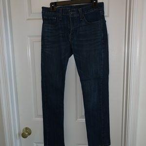 Levi's 30x30 - 511 Slim Fit Jeans Dark Blue